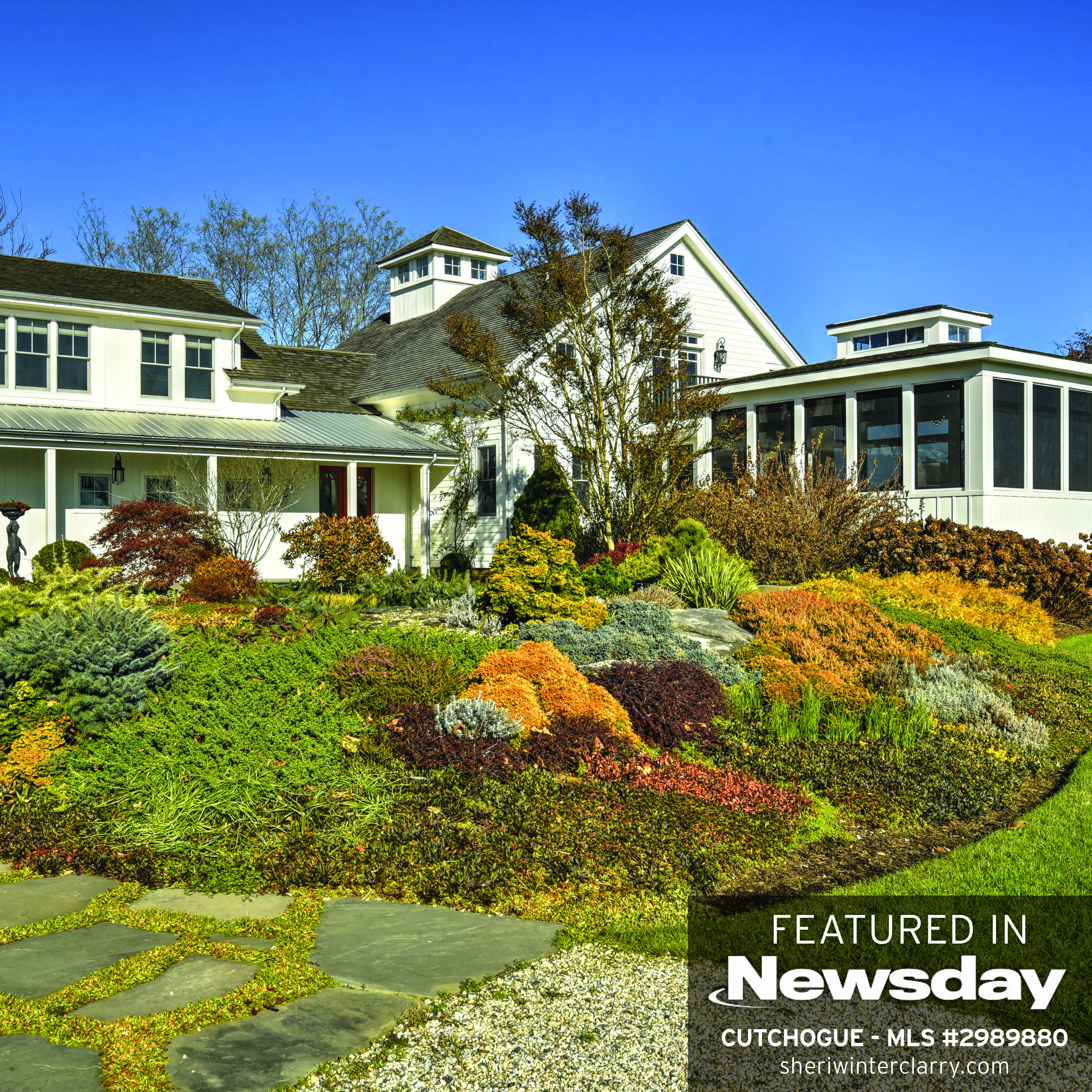 $2.15M Cutchogue home with well-known gardens on market