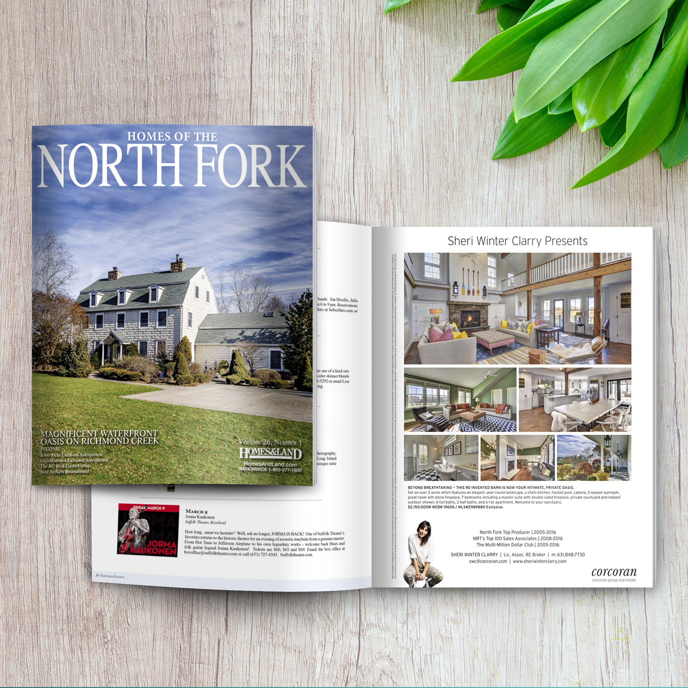 Featured in the Homes of the North Fork Magazine