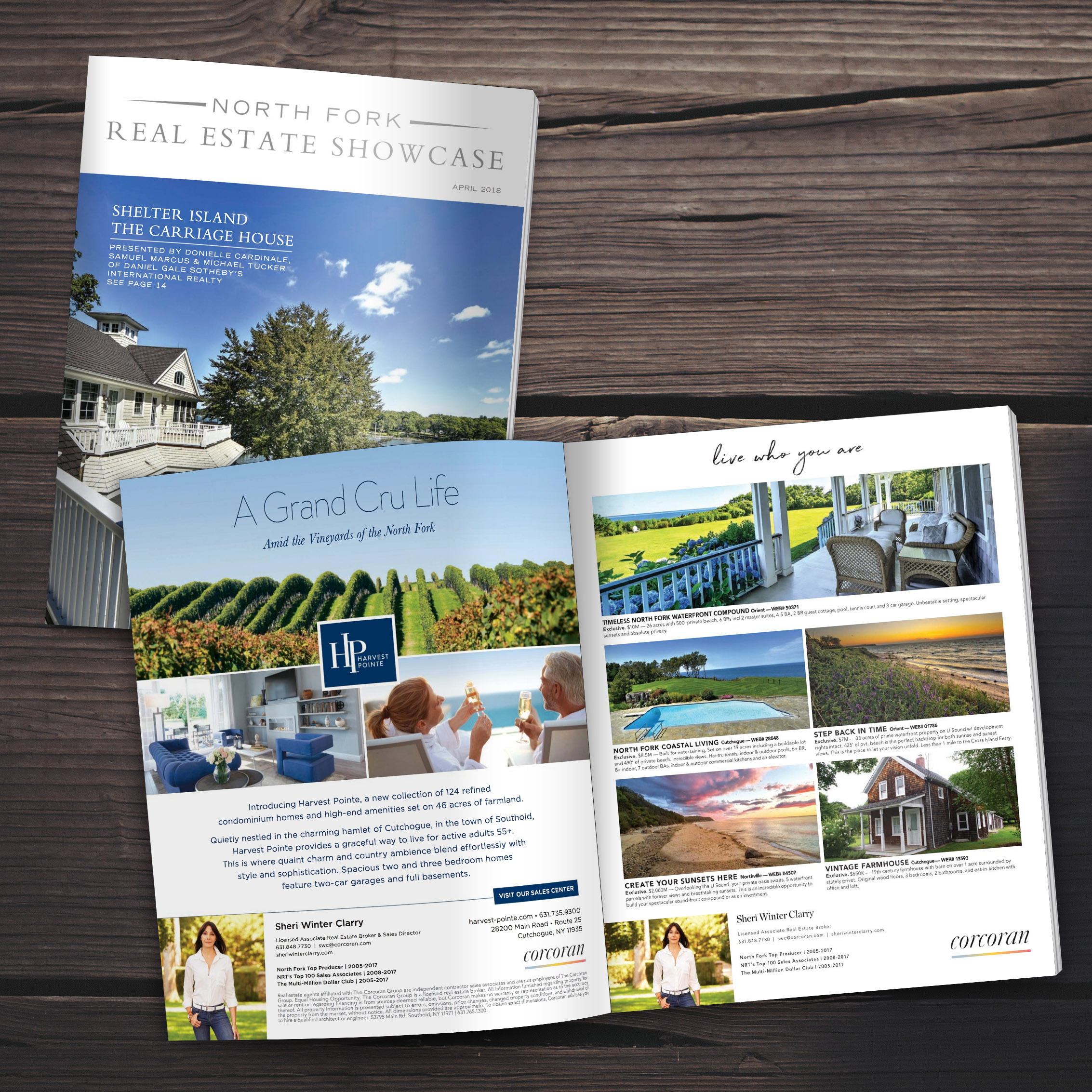 Featured in April's Issue of the North Fork Real Estate Showcase