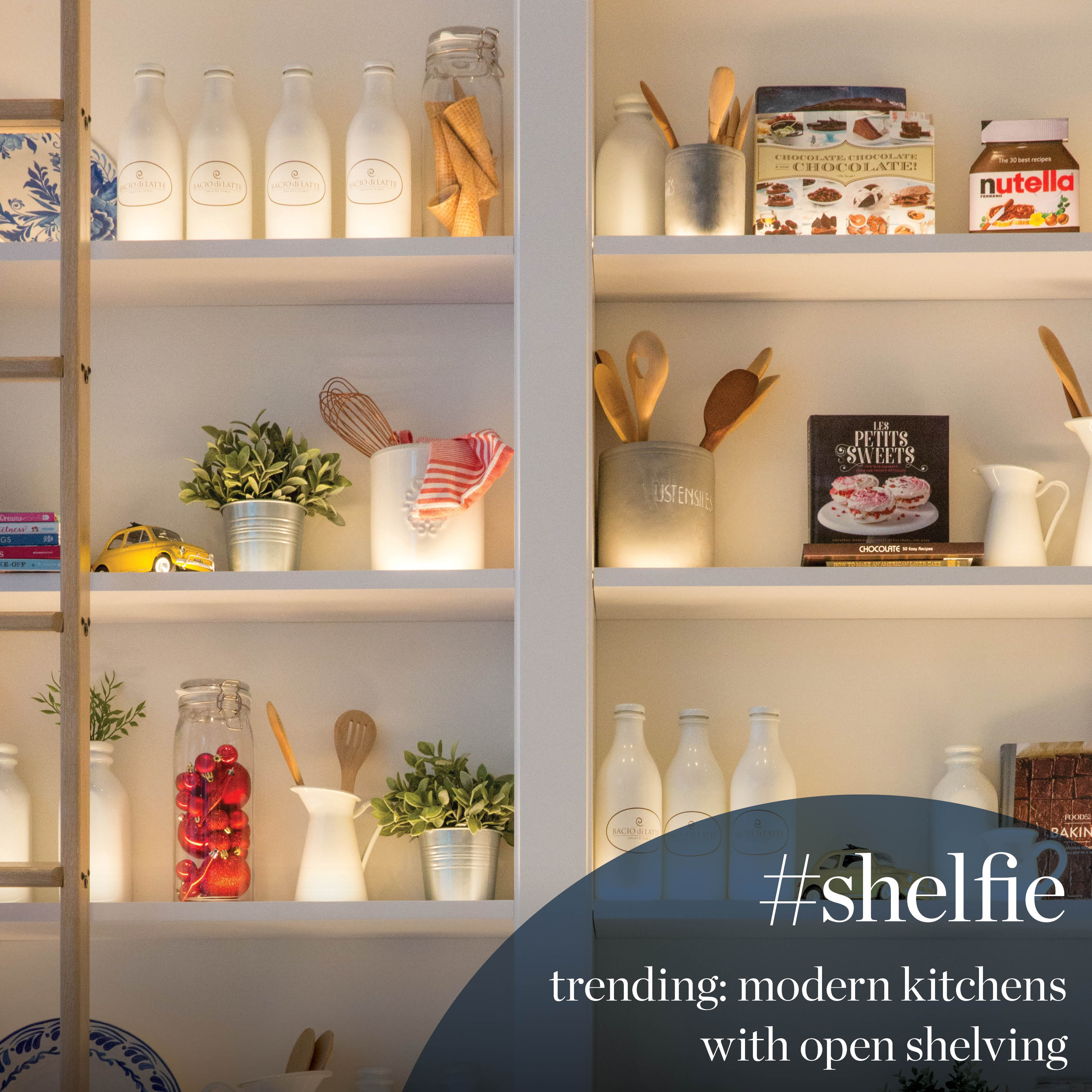 THE KITCHEN #SHELFIE