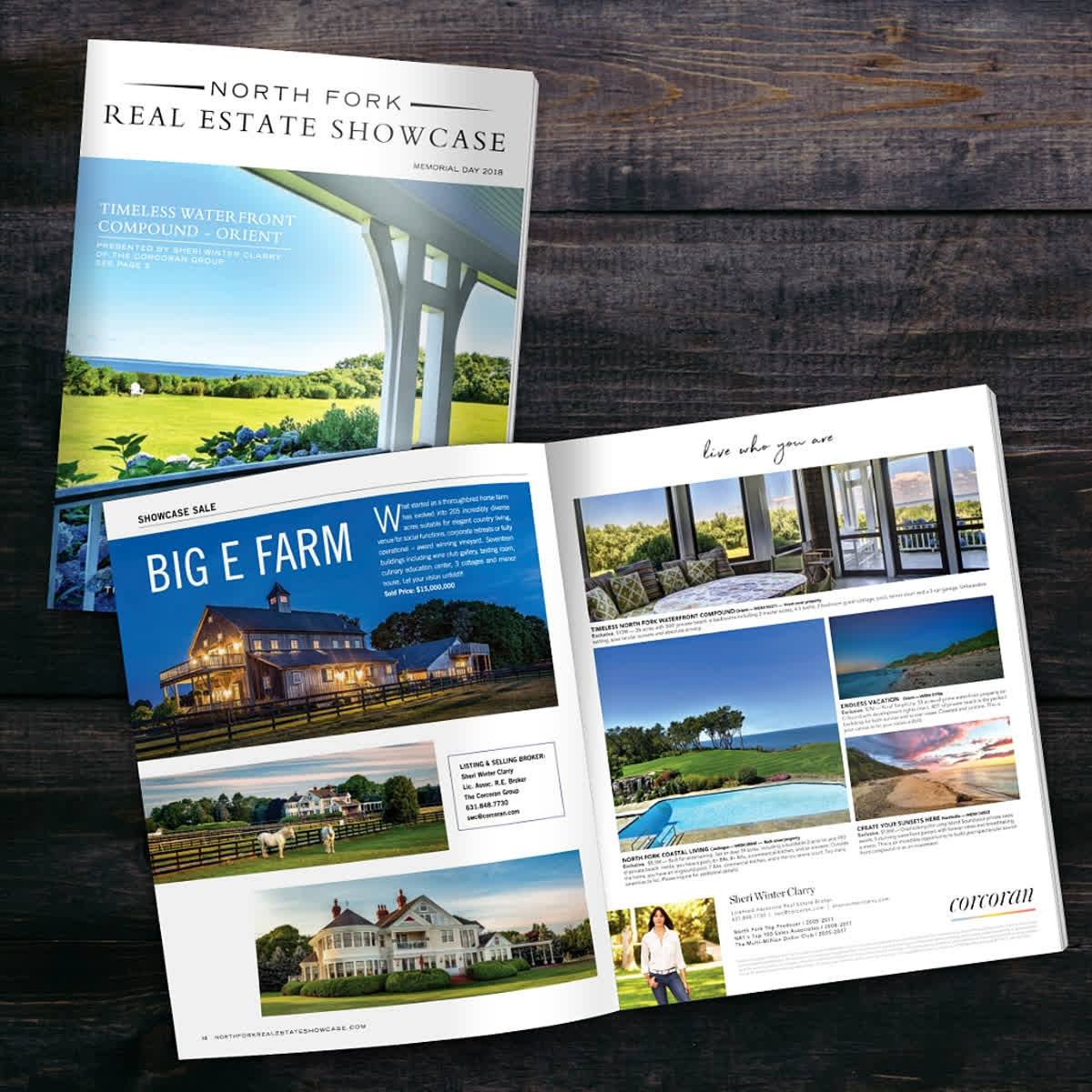 The latest issue of the North Fork Real Estate Showcase