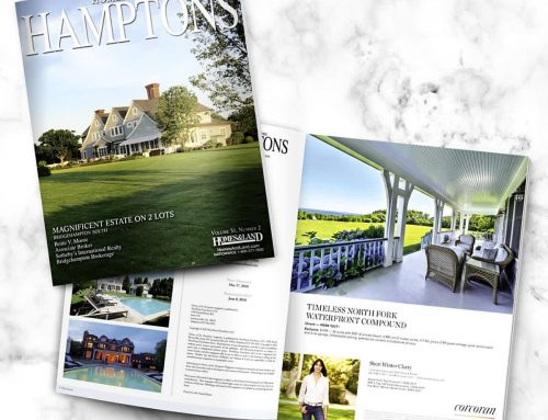 The newest issue of the Homes of the Hamptons magazine!