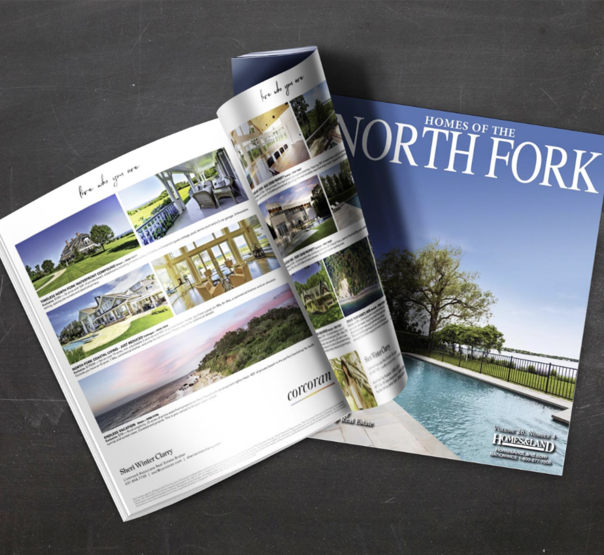 The latest issue of Homes of the North Fork!