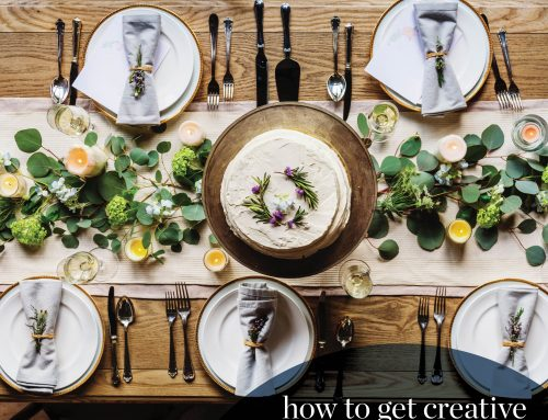 How to Get Creative with Your Holiday Table